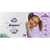 Always My Baby Diapers, 6 (35+ lb)