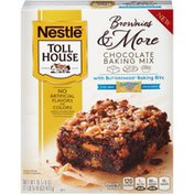 Toll House Chocolate Baking Mix with Butterfinger Baking Bits Brownies & More