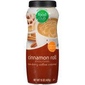 Food Club Cinnamon Roll Non-Dairy Coffee Creamer