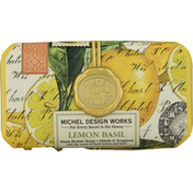Michel Design Works Shea Butter Soap, Lemon Basil