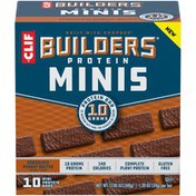 CLIF BAR Protein Minis Chocolate Peanut Butter Mini Protein Bars