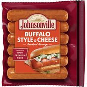 Johnsonville Buffalo Style & Cheese (101232) Smoked & Cooked