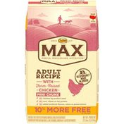 NUTRO Max Adult Recipe with Farm-Raised Chicken Mini Chunk Dog Food