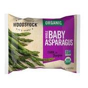 WOODSTOCK Organic Whole Baby Asparagus
