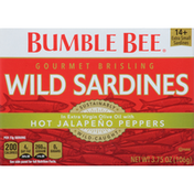 Bumble Bee Gourmet Brisling Wild Sardines With Hot Jalapeno Peppers