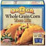Ortega Whole Grain Corn Taco Kit