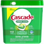 Cascade Power Clean ActionPacs Fresh Scent Dishwasher Detergent
