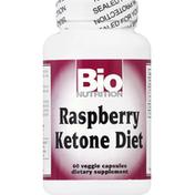 Bio Nutrition Raspberry Ketone Diet, Veggie Capsules