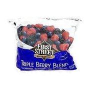 First Street Blueberries, Blackberries & Raspberries Blend