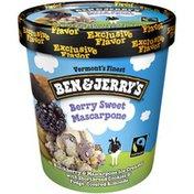 Ben & Jerry's Ice Cream Berry Sweet Mascarpone