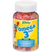 Nutrition Now Rhino Gummy Omega-3 Vitamins