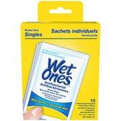 Wet Ones Antibacterial Hand Wipes Singles Citrus Scent