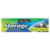 Best Choice Quart Zip Storage Bag