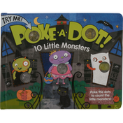 Melissa & Doug Book, 10 Little Monsters