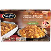 Stouffer's CLASSICS Family Size Macaroni & Cheese with Parmesan Bread Crumbs