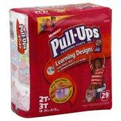 Huggies Training Pants with Learning Designs, Size 2T-3T (18-34 lb), Disney Princess, Jumbo