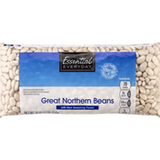 Essential Everyday Great Northern Beans, with Ham Seasoning Packet