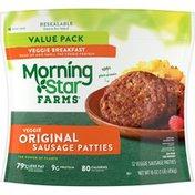 Morning Star Farms Veggie Breakfast Sausage Patties, Original
