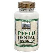 Peelu Dental Chewing Gum, Economy Size, Fresh Spearmint Flavor
