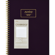 Mead Notebook, Ruled Pages, 80 Sheets