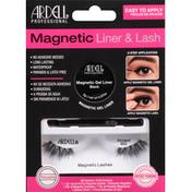 Ardell Liner & Lash Kit, Magnetic, 002