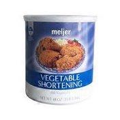 Meijer Vegetable Shortening