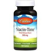 Carlson Labs Niacin-Time