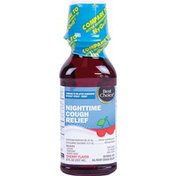 Best Choice Cherry Flavored Night Time Cough Syrup