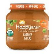 Happy Baby Carrots & Peas