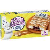 Pillsbury Toaster Strudel, Golden Graham S'mores, 6 Count