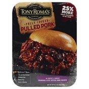 Tony Roma's Pulled Pork, in Sweet & Smoky Kansas City Style BBQ Sauce