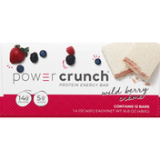 Power Crunch Protein Energy Bar, Wild Berry Creme