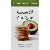 Stonewall Kitchen Crackers, Down East, Avocado Oil & Sea Salt