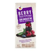 SB Dark Chocolate Bar Berry Your Problems
