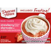 Duncan Hines Mug Cakes, Strawberry Shortcake