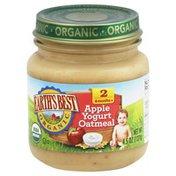 Earth's Best Apple Yogurt Oatmeal, 2 (6 Months +)