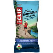 CLIF BAR Organic Fruit Smoothie Filled Wild Blueberry Acai Energy Bar