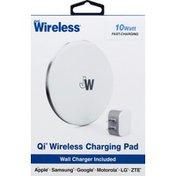 Just Wireless Charging Pad, Qi Wireless, 10 Watts