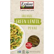 Explore Cuisine Organic Penne Green Lentil