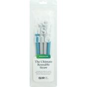 Gir Traveler Silicone Straw 2-Pack