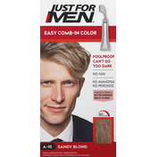 Just For Men Easy Comb-In Color, Sandy Blond A-10
