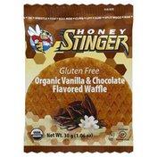 Honey Stinger Waffle, Gluten Free, Organic, Vanilla & Chocolate Flavored
