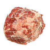 Open Nature Half Netted Boneless Pork Roast