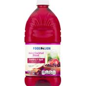 Food Lion Juice Cocktail Blend, Cranberry & Apple