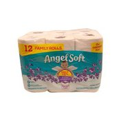Angel Soft Bath Tissue With Lavender Scent
