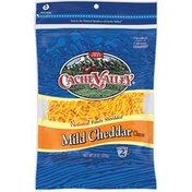 Cache Valley Natural Mild Cheddar Finely Shredded Cheese