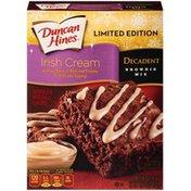 Duncan Hines Decadent Irish Cream Brownie Mix