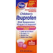 Kroger Ibuprofen, Oral Suspension, Bubble Gum Flavor