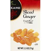 Ka-Me Ginger, Sliced, Crystallized
