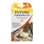 Futuro Therapeutic Open Toe Knee Length for Men & Women Firm Medium/Beige
